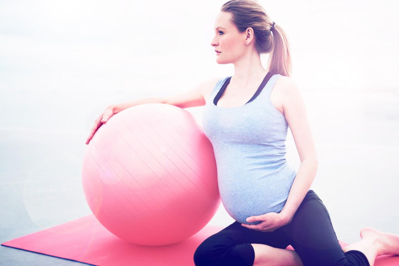 Pilates para embarazadas.  Tempore de ilusión